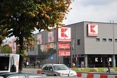 Loja de Kaufland, supermercado Imagem de Stock Royalty Free