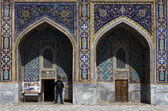 Loja de lembrança de Samarkand Foto de Stock Royalty Free