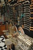Loja de lembrança marroquina Fotografia de Stock