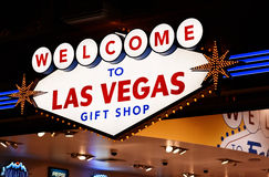 Loja de lembranças de Las Vegas Fotografia de Stock