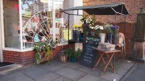 Loja de lembranças em Chorlton Manchester Reino Unido fotos de stock royalty free