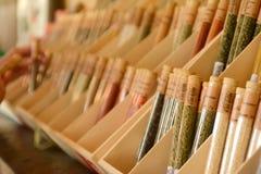 Loja de lembranças em especiarias de Versalhes foto de stock