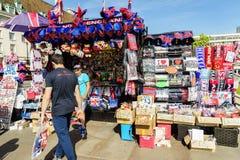 Loja de lembranças em Londres Fotos de Stock Royalty Free