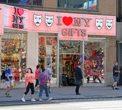 Loja de lembranças de NY Imagens de Stock Royalty Free