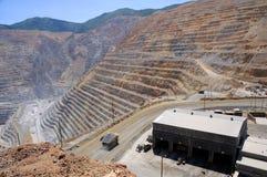Loja de manutenção do equipamento da mineração Foto de Stock Royalty Free