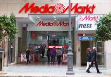 Loja de Markt dos meios em Valência Imagens de Stock