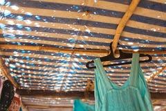 Loja de matéria têxtil da praia Imagem de Stock