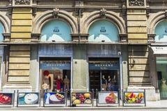 Loja de Max Mara em Palermo em Sicília, Itália foto de stock royalty free