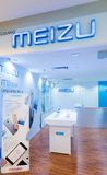 Loja de Meizu na plaza baixo Yat, Kuala Lumpur Fotografia de Stock