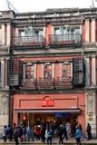 Loja de Miniso em Shanghai Fotografia de Stock Royalty Free