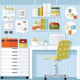 Loja de mobiliário de escritório do escritório domiciliário Fotografia de Stock Royalty Free