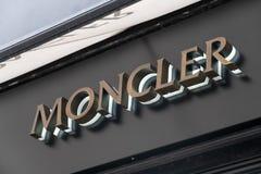 Loja de Moncler imagem de stock