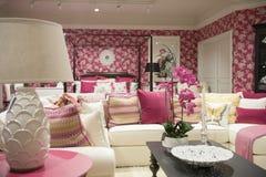 Loja de móveis luxuosa Fotografia de Stock Royalty Free