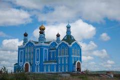 Loja de ofício do russo de Manzhouli Matryoshka no quadrado Fotografia de Stock Royalty Free