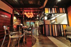 Loja de Osaka Coffee Foto de Stock