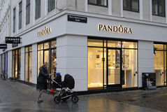 Loja de Pandora Fotos de Stock Royalty Free