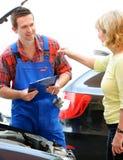 Loja de reparação de automóveis Imagens de Stock Royalty Free