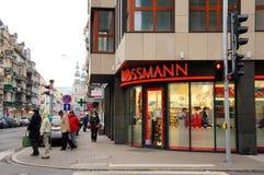 Loja de Rossmann imagem de stock royalty free