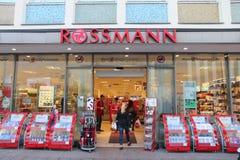 Loja de Rossmann fotografia de stock royalty free