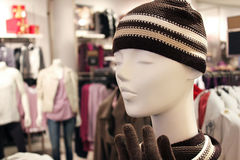 Loja de roupa da forma Fotografia de Stock