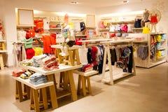 Loja de roupa das crianças Imagens de Stock