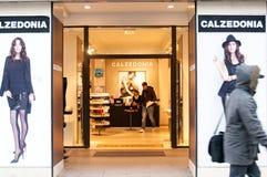 Loja de roupa de Calzedonia Imagens de Stock Royalty Free