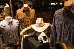 Loja de roupa do vaqueiro Foto de Stock Royalty Free