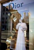 Loja de roupa italiana Imagem de Stock Royalty Free