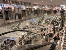 Loja de roupa no Washington DC do centro Fotografia de Stock Royalty Free