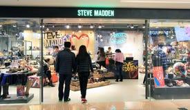 Loja de Steve Madden em Hong Kong fotografia de stock