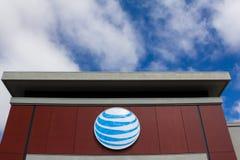 Loja de AT&T Foto de Stock