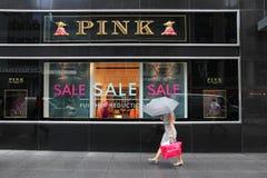 Loja de Thomas Pink Fotografia de Stock