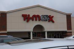Loja de TJMAXX em Brunsvique, Geórgia Imagem de Stock Royalty Free