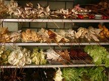 Loja de Veg na porcelana do lanzhou Imagens de Stock
