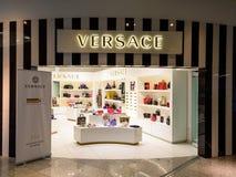 Loja de Versace Imagens de Stock Royalty Free