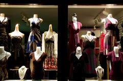 Loja de vestido Fotografia de Stock