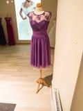 Loja de vestido Imagem de Stock
