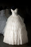 Loja de vestido do casamento Fotos de Stock Royalty Free