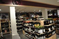 Loja de vinhos Foto de Stock
