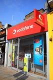 Loja de Vodafone Imagem de Stock Royalty Free