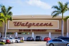 Loja de Walgreens Imagens de Stock