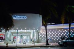Loja de Walgreens em Miami Beach, Florida Fotografia de Stock Royalty Free