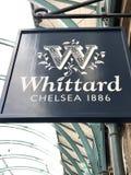 Loja de Whittard fotografia de stock