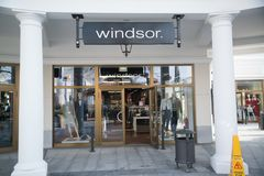 Loja de Windsor em Parndorf, Áustria foto de stock royalty free