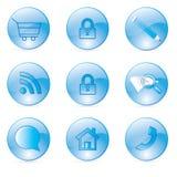 Loja do ícone Imagens de Stock