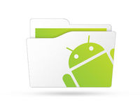 Loja do Android Imagens de Stock
