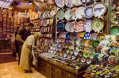 Loja do bazar Foto de Stock Royalty Free