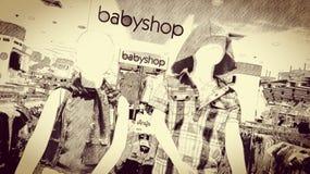 Loja do bebê Foto de Stock