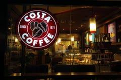 Loja do café da costela imagem de stock royalty free