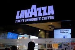 Loja do café de Lavazza Fotografia de Stock Royalty Free